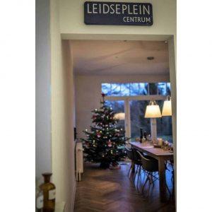 Amsterdams straatnaambord voor binnen - Leidseplein