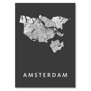 "Amsterdam mozaïek poster ""autumn"""