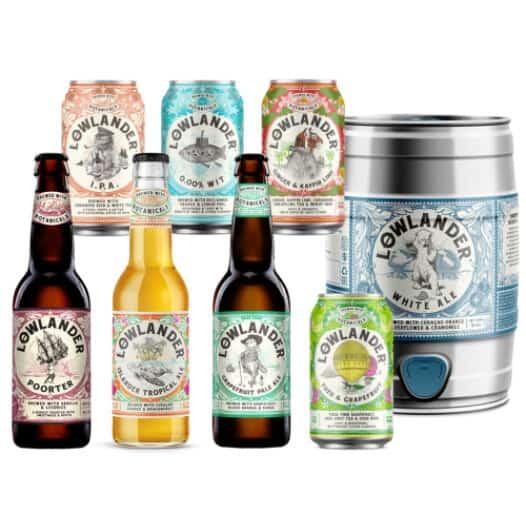 Lowlander bieren en pakketten