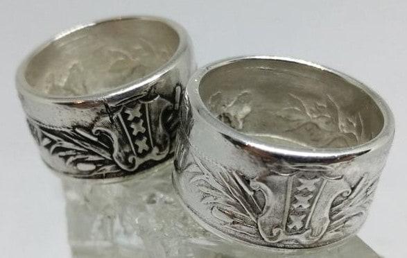 Amsterdamse ring obv munt 700-jarig bestaan Amsterdam 3