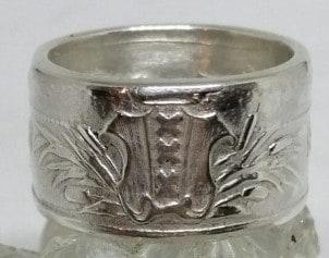 Amsterdamse ring obv munt 700-jarig bestaan Amsterdam 4