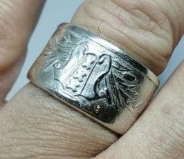 Bronmateriaal voor Amsterdamse ring obv munt 700-jarig bestaan Amsterdam 8