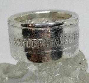 Amsterdamse ring obv munt 700-jarig bestaan Amsterdam 2