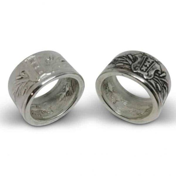 Ring met wapen van Amsterdam