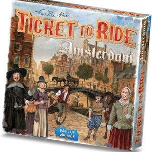 Bordspel Ticket to ride Amsterdam doos