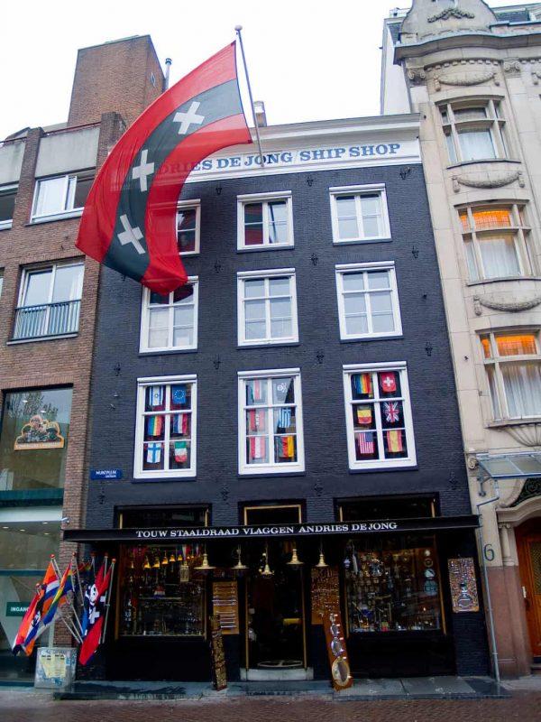 Buy huge Amsterdam flag - worldwide shipping