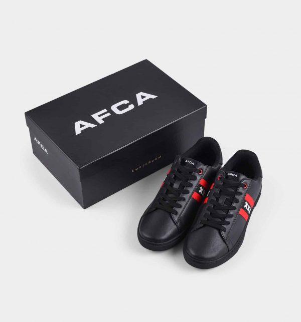Amsterdam sneakers zwart met doos