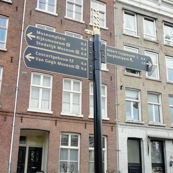Amsterdam bewegwijzering