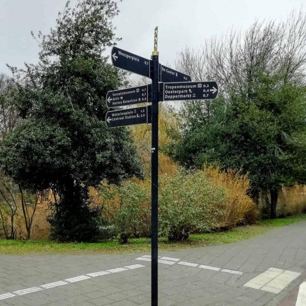 Amsterdam verwijsbord