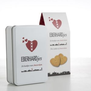 Eberhardjes koekblik met koekpak